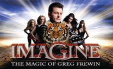 Greg Frewin Show Tickets, Dinner and Accommodation